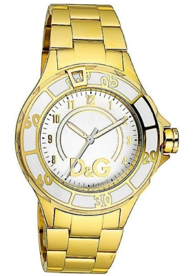 D&G Νew Anchor Gold Stainless Steel Bracelet DW0661