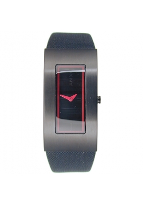 DKNY Red and Black Strap