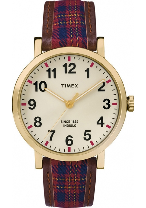 TIMEX Originals Multicolor Leather Strap
