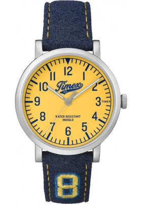 TIMEX Originals Blue Leather Strap