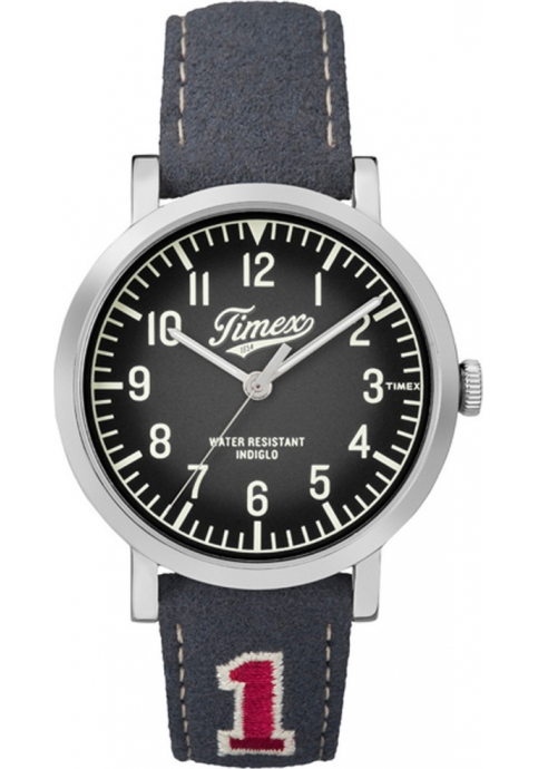 TIMEX Originals Grey Leather Strap