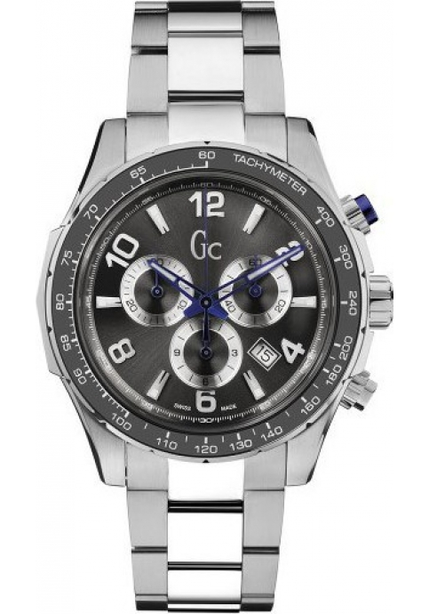 GUESS Collection Technosport Chrono Stainless Steel Bracelet