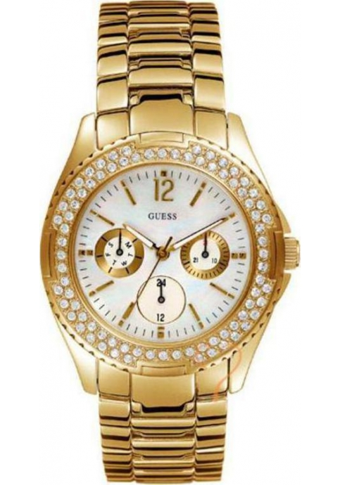 Guess Ladies Candy Pop Gold Watch