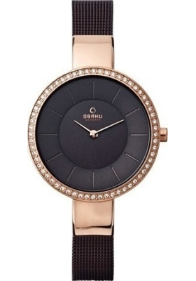 OBAKU Sol Glimt Walnut Ladies V179LEVNMN