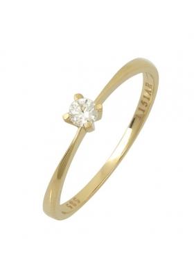 Δαχτυλίδι 14 Καράτια Χρυσο με Ζιργκον